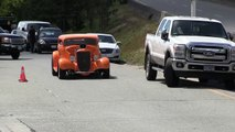 Street sound of Rat Rods,Hot Rods and street machines, accelerations and burno