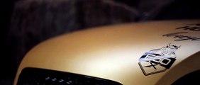 Audi TTRS blechfilm Design