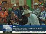 Etnias de México eligen a la primera candidata presidencial indígena