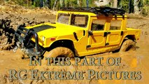 RC Muddy Truck 4x4 — Hummer H1 Stuck in The MUD Part One — RC Extreme Pi