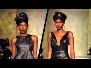 ADAMA PARIS 2012 SHOW @ BLACK FASHION WEEK PARIS 2012