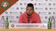 Roland-Garros 2017 : 1T conférence de presse Nick Kyrgios