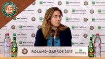 Roland-Garros 2017 : 1T conférence de presse Alizé Cornet