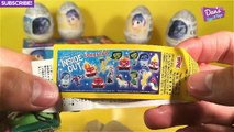 GIANT INSIDE OUT Surprise Eggs Compilation Play Doh - Disney Pixar Joy Disgust Anger Toys