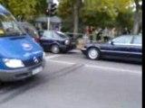 Avarija(DRS Tarp iki ir maximos) BMW i bulkute