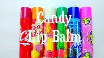 DIY  Lip Balm PRANK! EDIBLE CANDY Treat Using Lip Balm Tubes!! Coke Bottles, Starbursts, and Mo