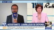 """Assistants parlementaires: mis en cause Lavrilleux dénonce """"une accusation totalement fictive"""""""