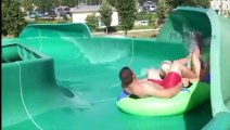 Extreme tallest water slide in the wo
