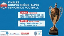 Finales Coupes Rhône-Alpes de Football 2017