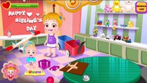Baby Hazel Gameplay Great Makeover for Kids HD Siblings Day Kids Cartoons Ep.12,Cartoons animated anime game 2017