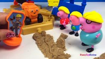 BOB THE BUILDER WITH DIZZY SCOOP MUCK AND STEAM ROLLER ROLLEY - MASH AND MOLD CONSTRUCTION