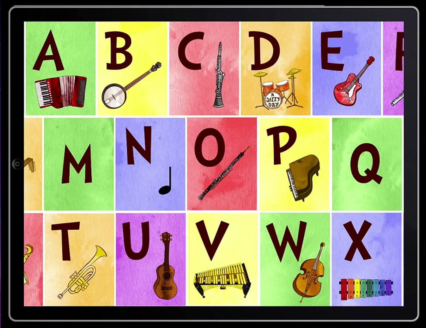 Jazzy ABC - Music Education For Kids (The Melody Book) - Best App For Kids
