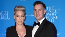 Pink's Husband Carey Hart Built Her A Custom Motorcycle For Her Push Present