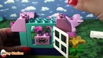 MINNIE MOUSE Disney Lego Duplo Minnie Mouse Cafe and Plane a Mickey Mouse Video Toy Unboxi