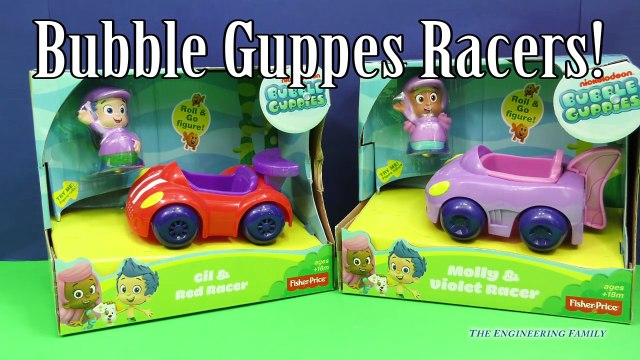 BUBBLE GUPPIES Nickelodeon Bubble Guppy Gil and Mr. Grouper Bus a Bubble Guppy Video Toy R