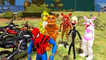 Five Nights at Freddys Finger Family Song Kids Nursery Rhymes FNAF Animatronics Freddy To