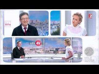"""Jean-Luc Mélenchon invité à """"Les 4 Vérités"""" sur France 2 le 31/05/2017"""