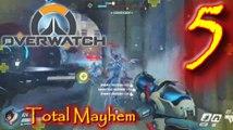 Total Mayhem Lets Play Overwatch Episode 5 #Overwatch