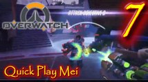Quick Play Mei Lets Play Overwatch Episode 7 #overwatch