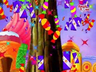 Asava Sundar Chocolate Cha Bangla - Animated Song For Kids - Marathi Balgeet
