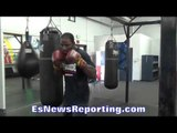 Ola Afolabi WORKING OUT for NOV. 4th WANTS 4th Marco Huck FIGHT - EsNews Boxing