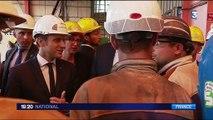 Emmanuel Macron : ses projets pour les chantiers navals de Saint-Nazaire