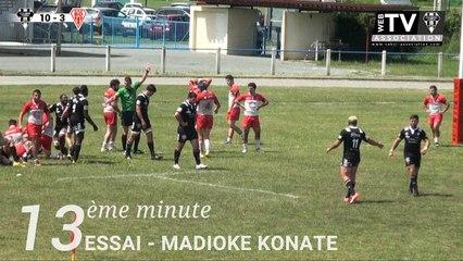 Le top essais de la semaine des #espoirs après la finale CABCL / Biarritz Olympique !