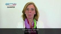 Législatives 2017. Claire Levry-Gérard : 1ere circonscription du Finistère (Quimper)