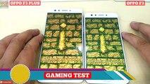 Oppo F3 Vs Oppo F3 Plus - Speed Test & Look Comparison -