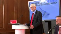 Corbyn: Tories starving NHS and schools of resources