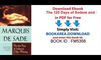 [Download] The 120 Days of Sodom and Other Writings on Pdf