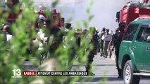 Kaboul : attentat contre les ambassades