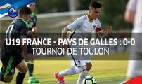 U19, France - Pays de Galles 0-0