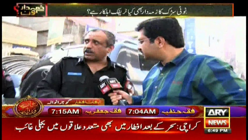 Are there 100,000 encroachments in Saddar? What cause traffic jams in Karachi?