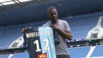 Bevic Moussiti-Oko au HAC: ses premières impressions