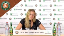 Roland Garros 2017 : 2T conférence de presse Petra Kvitova