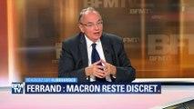 """Jean-Louis Bourlanges, soutien d'Emmanuel Macron, """"choqué"""" par l'affaire Ferrand"""