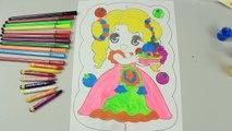Dessin Princesse enfant artiste dessin et la peinture de la belle princesse bébé belle ✍