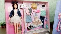 Vêtements poupée Robe déballage barbie 2 des vêtements de poupée Barbie habiller roupas de boneca barbie puppe kleid