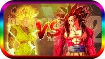 dragon ball xenoverse 2 fr GOKU Super Saiyen 4 Blue vs sangohan super sayen 2