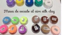 Silk clay POMPAS O BURBUJAS bubbles (masa de secado al aire)