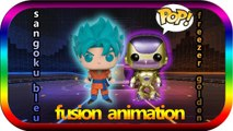 [ Funko Pop ] fusion sangoku bleu VS freezer golden AMIMATION