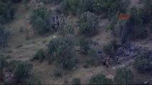 Şırnak- Helikopterin Düştüğü Bölgeden Olay Yeri Görüntüleri