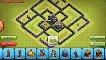 Clash Of Clans - New Update - TH7 Farming base 3 air defense ANTI EVERYTHING! - TH7 Trophy