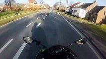 Kawasaki ninja 636 winter ride! (going werwer24