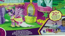 MLP Princess Twilight Sparkle Crystal Palace Castle Playset My Little Pony Toy Unboxing Re