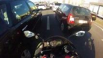 Kawasaki ninja 636  257 Km_h !)