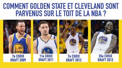 Comment Golden State et Cleveland sont parvenus sur le toit de la NBA ?