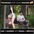 Video Madrid tweerk girl