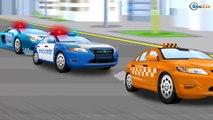 Видео для детей Полицейская машина и Пожарная машина в Городе Мультики Машинки